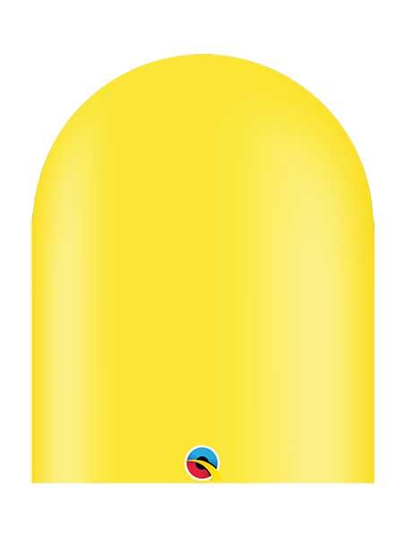 Qualatex 646q Yellow Twister Balloons