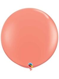 "Qualatex 36"" Coral Latex Balloons"