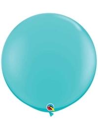 "Qualatex 36"" Caribbean Blue Latex Balloons"