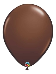 "Qualatex 16"" Chocolate Latex Balloons"