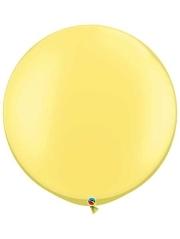 "Qualatex 30"" Pearl Lemon Chiffon Latex Balloon"