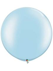 "Qualatex 30"" Pearl Light Blue Latex Balloon"