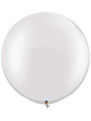 """Qualatex 30"""" Pearl White Latex Balloon"""