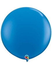 "Qualatex 36"" Dark Blue Latex Balloons"