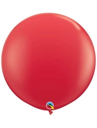"Qualatex 36"" Red Latex Balloons"