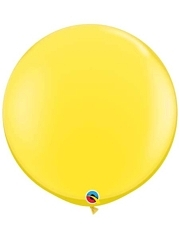 "Qualatex 36"" Yellow Latex Balloons"