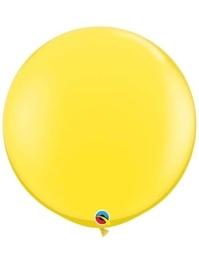 "Qualatex 36"" Yellow Latex Balloons"