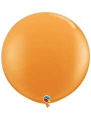 "Qualatex 36"" Orange Latex Balloons"