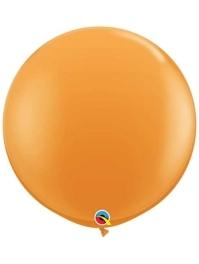 "Qualatex 36"" Orange Latex Balloons"