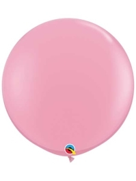 "Qualatex 36"" Pink Latex Balloons"