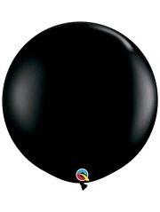 "Qualatex 36"" Onyx Black Latex Balloons"