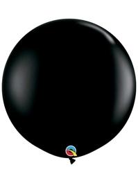 "Qualatex 36"" Onyx Black Latex Balloons"