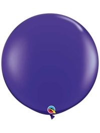 "Qualatex 36"" Quartz Purple Latex Balloons"
