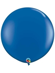 "Qualatex 36"" Sapphire Blue Latex Balloons"
