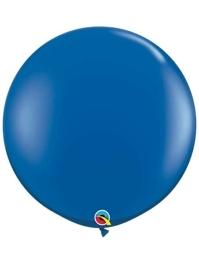 """Qualatex 36"""" Sapphire Blue Latex Balloons"""