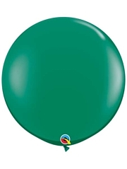 "Qualatex 36"" Emerald Green Latex Balloons"
