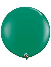 "Qualatex 36"" Emerald Green Latex Balloons"