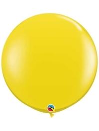 "Qualatex 36"" Citrine Yellow Latex Balloons"