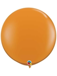 "Qualatex 36"" Mandarin Orange Latex Balloons"