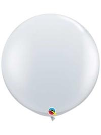 "Qualatex 36"" Diamond Clear Latex Balloons"