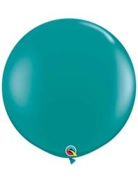 "Qualatex 36"" Jewel Teal Latex Balloons"