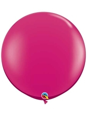 "Qualatex 36"" Jewel Magenta Latex Balloons"