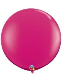 "Qualatex 36"" Jewel Magenta Latex Balloons"