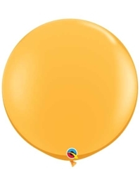 "Qualatex 36"" Goldenrod Latex Balloons"