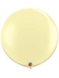 "Qualatex 36"" Ivory Silk Latex Balloons"