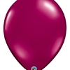 "Qualatex 16"" Sparkling Burgundy Latex Balloons"