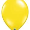 "Qualatex 16"" Citrine Yellow Latex Balloons"