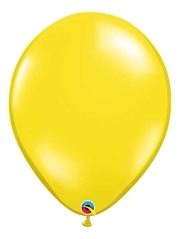 "Qualatex 16"" Citrine Yellow Latex Balloons"
