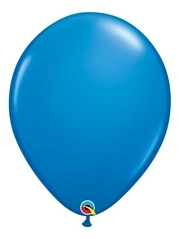 "16"" Dark Blue Latex Balloons"