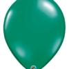 "Qualatex 16"" Emerald Green Latex Balloons"