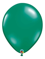 "Qualatex 16"" Emerald Green Latex Balloons"