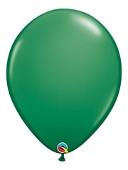 "16"" Green Latex Balloons"