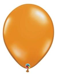 "Qualatex 16"" Mandarin Orange Latex Balloons"