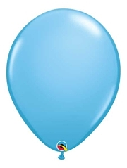 "16"" Pastel Blue Latex Balloons"
