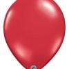 "Qualatex 16"" Ruby Red Latex Balloons"