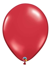 "Qualatex 16"" Ruby Red Latex Balloons"