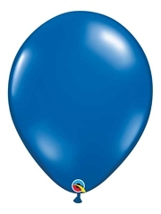 "Qualatex 16"" Sapphire Blue Latex Balloons"