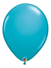 "Qualatex 16"" Tropical Teal Latex Balloons"