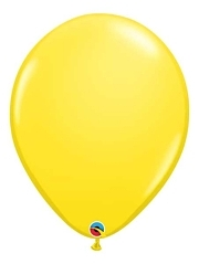 "16"" Yellow Latex Balloons"