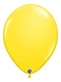 "16"" Yellow Latex Balloons"