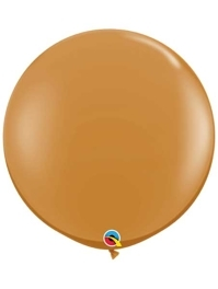 "Qualatex 36"" Mocha Brown Latex Balloons"