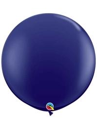 "Qualatex 36"" Navy Blue Latex Balloons"