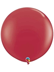 "Qualatex 36"" Maroon Latex Balloons"