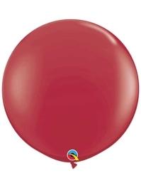 """Qualatex 36"""" Maroon Latex Balloons"""