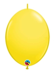 "Qualatex 12"" Yellow Quick Link Balloons"