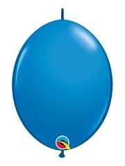 "Qualatex 12"" Dark Blue Quick Link Balloons"